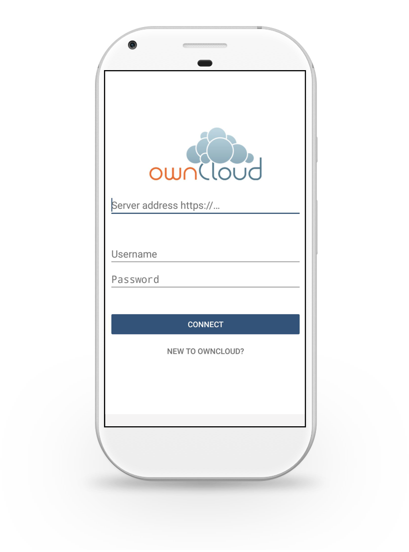 Owncloud mobile apps for Application miroir android