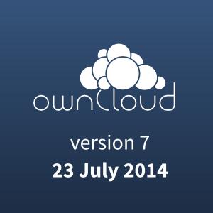 ownCloud 7 launch
