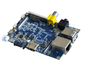 The Banana Pi board (image from wikipedia)