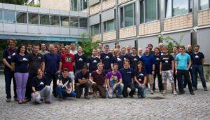 The hackathon visitors last year