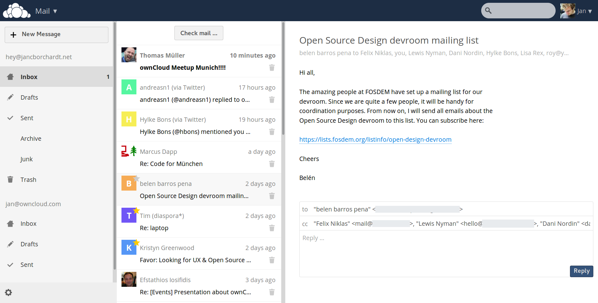 Owncloud Development For The First Two Weeks Of September Owncloud