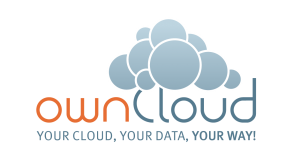 ownCloud Logo and slogan