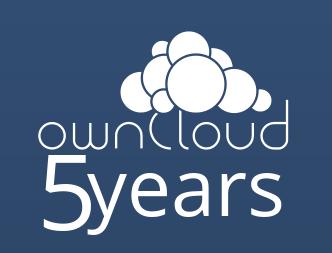 5 years logo