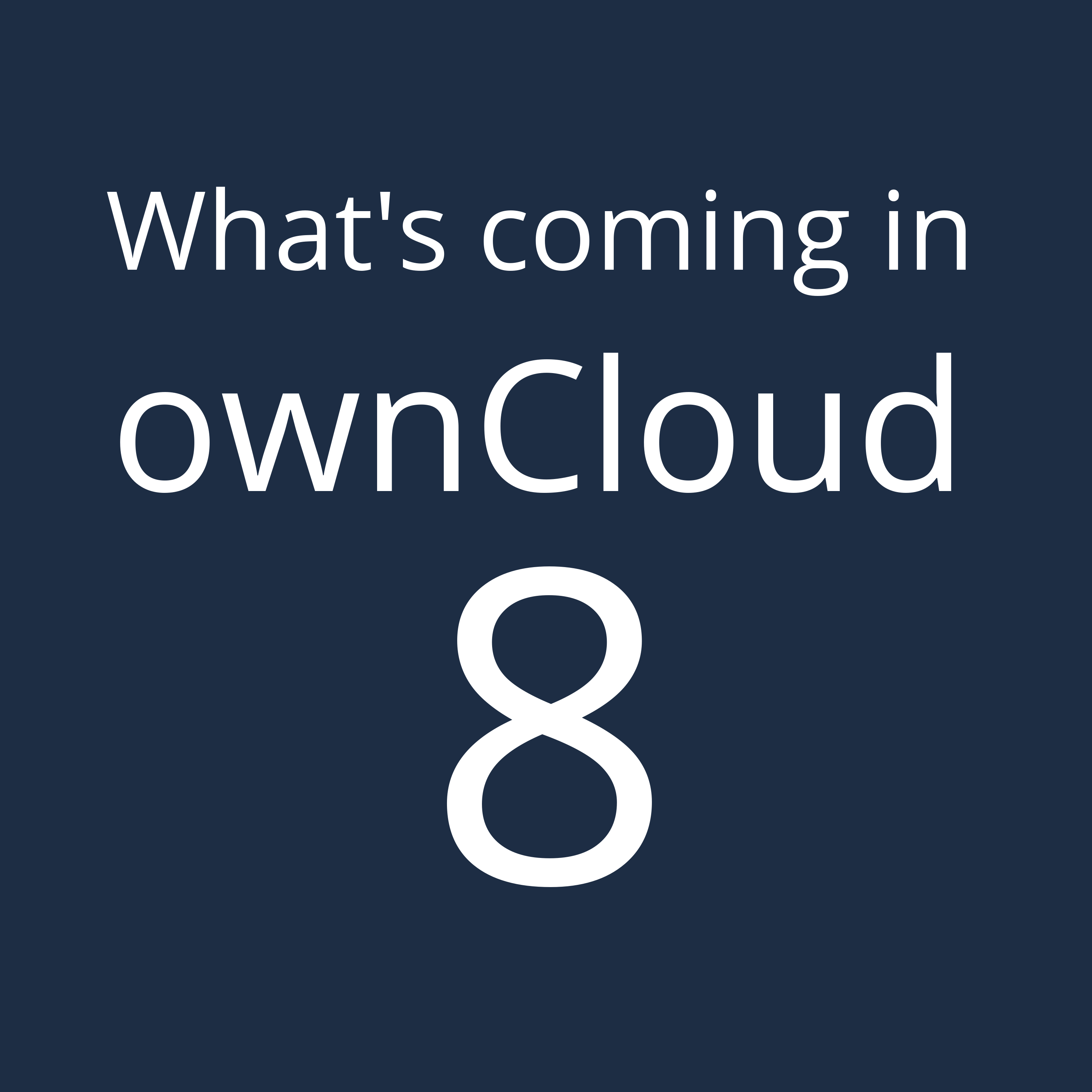 ownCloud 8 launch