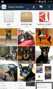 image grid in android app