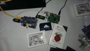 Pi's in action!