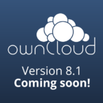 ownCloud 8.1 coming in June