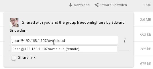 federatedShare 2