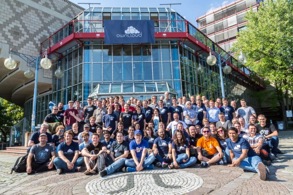 ownCloud Contributor Conference 2015 group photo