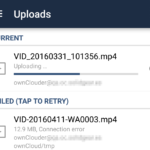 ownCloud Android Client 2.0 comes with upload view, federated sharing and more