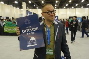 Cory Doctorow loves ownCloud at SCALE
