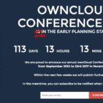 ownCloud Conference 2017 announced