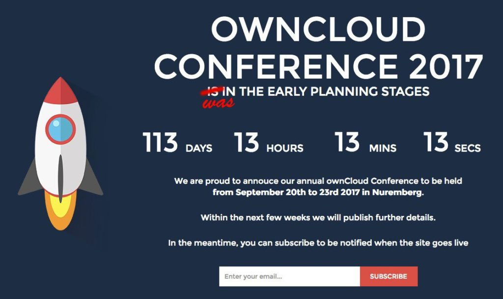 ownCloud Conference