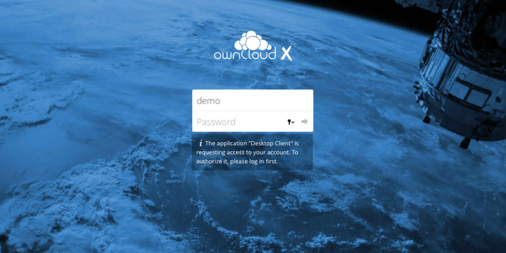 ownCloud oauth2 app auth request