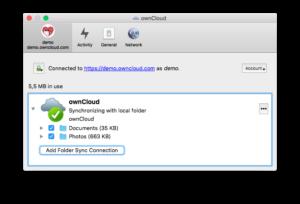 ownCloud Avatars in Desktop Client