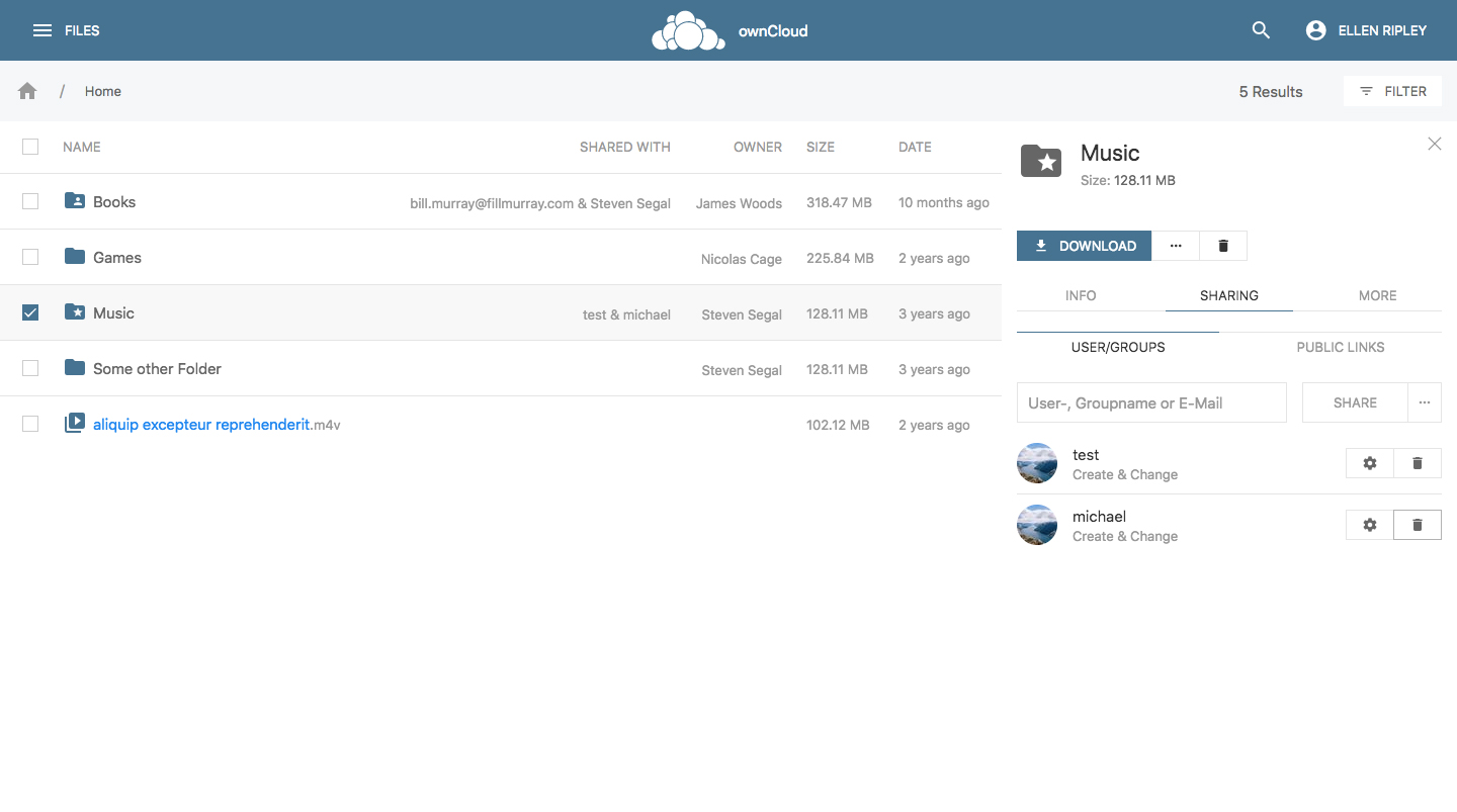 ownCloud Phoenix - rebirth of the ownCloud user interface – ownCloud