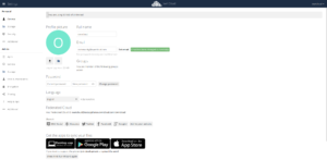 ownCloud change user email