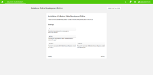 ownCloud Collabora installation settings