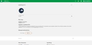ownCloud uninstall old app