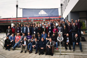 ownCloud conference 2017 group photo