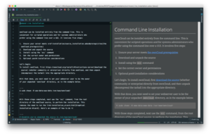 ownCloud documentation migration to Antora - editing asciidoc in phpstorm