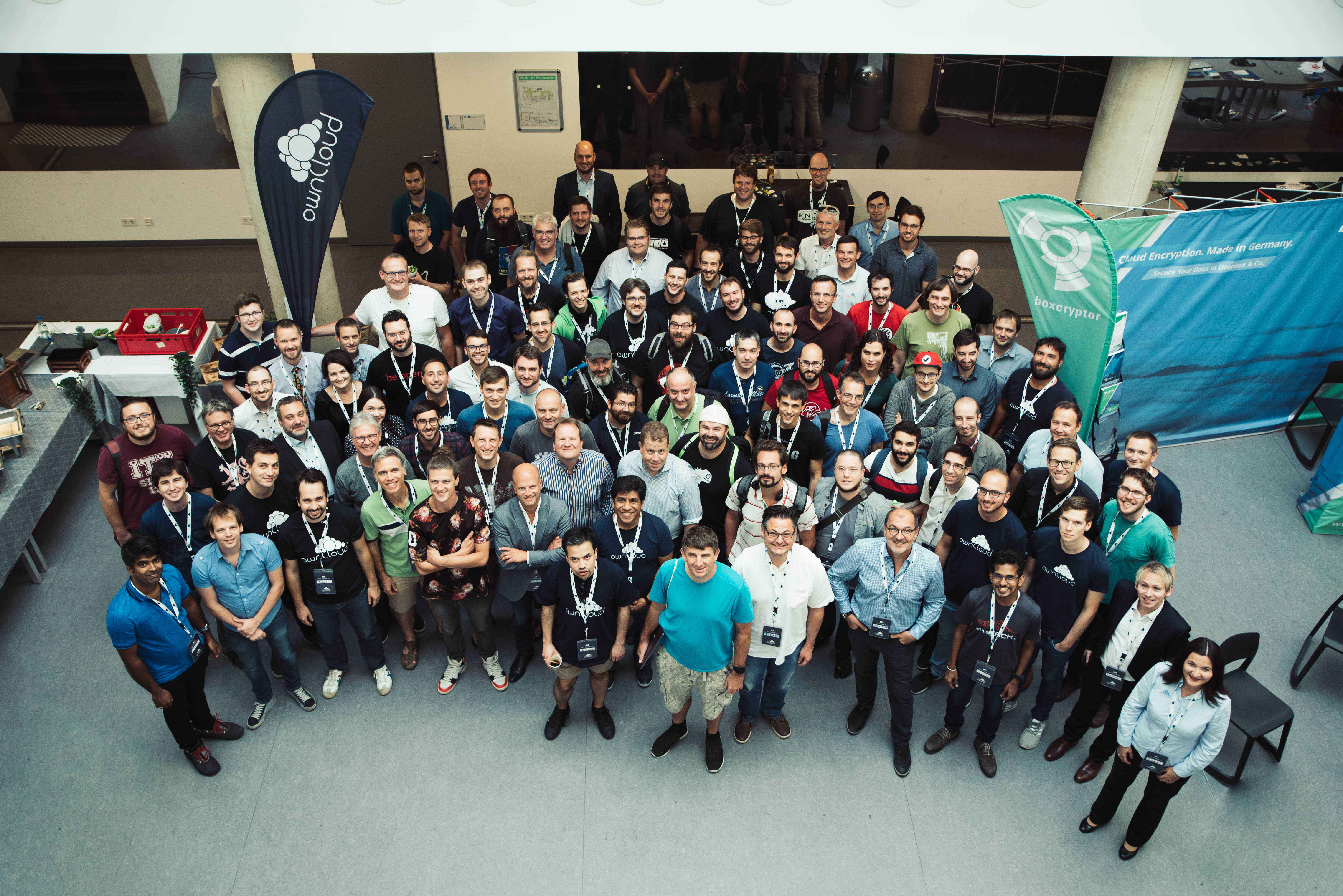 ownCloud conference group pic