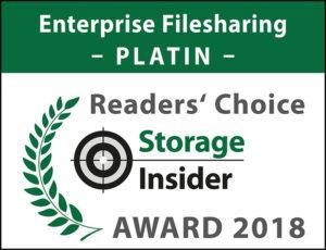 STI Platin 2018 Enterprise Filesharing