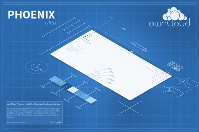 ownCloud Phoenix - new user interface
