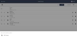 ownCloud Phoenix open pdf
