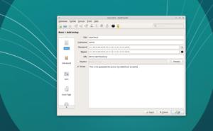 ownCloud KeePassXC create password