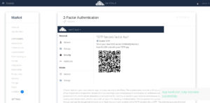 ownCloud two factor authentication install totp app