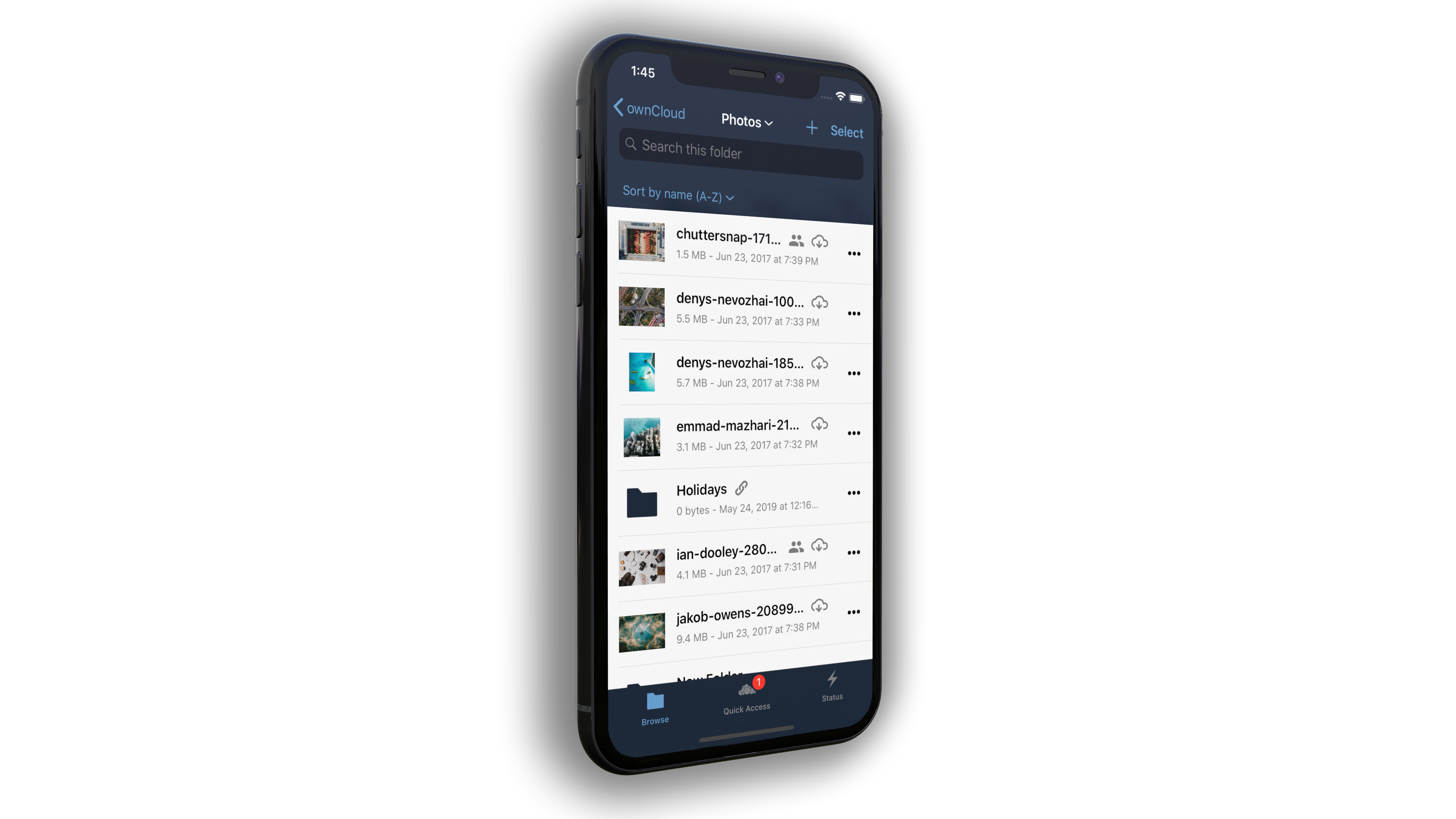 ownCloud Mobile Apps