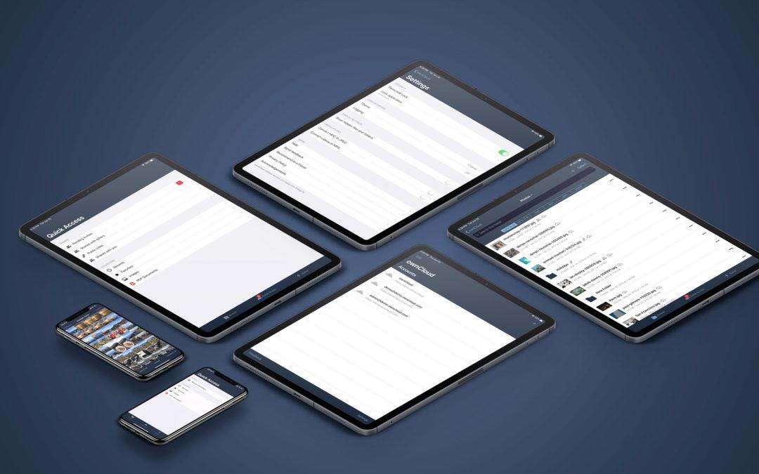 ownCloud präsentiert komplett neue Version der iOS-App