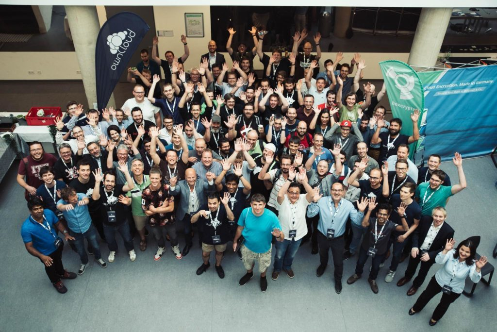 ownCloud Conference crowd