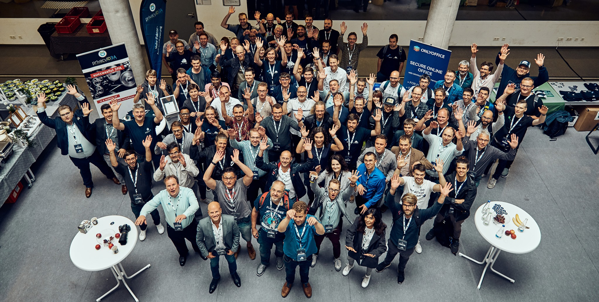 ownCloud team at the ownCloud conference 2019