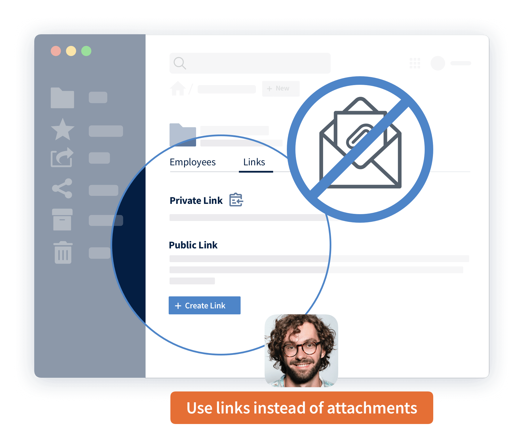 No more email attachements with ownCloud