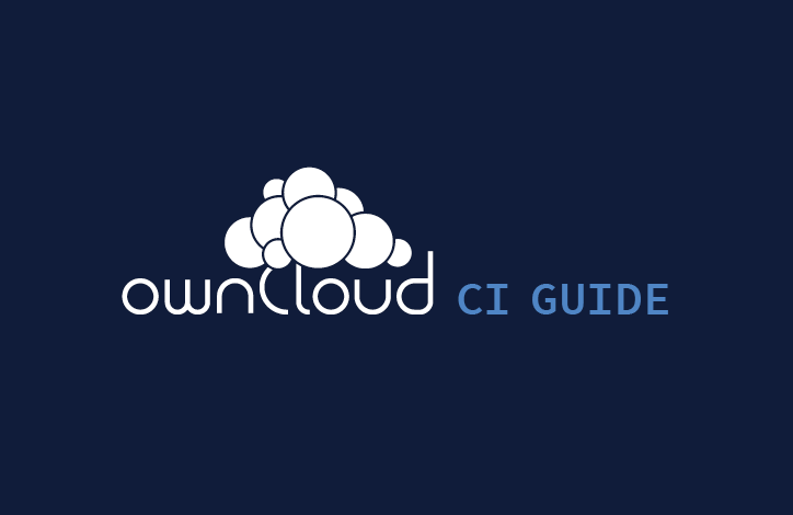 ownCloud CI guide