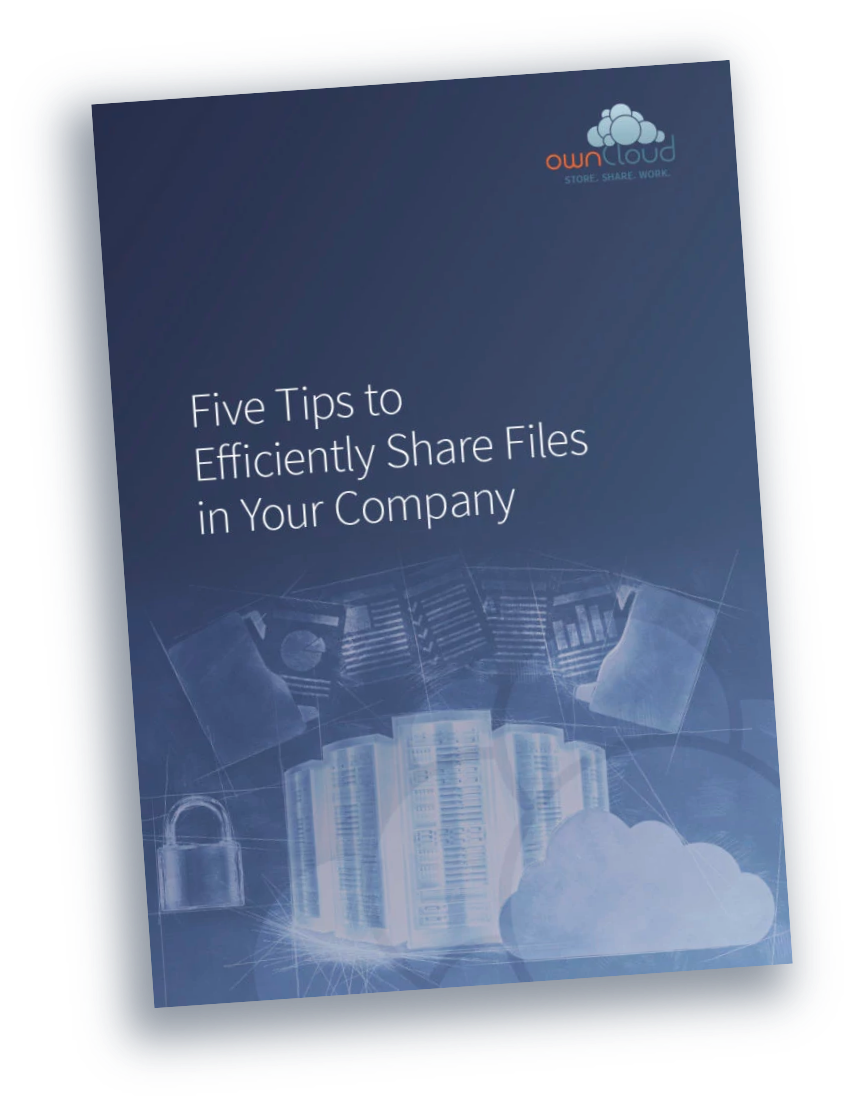ownCloud Five tips for filesharing