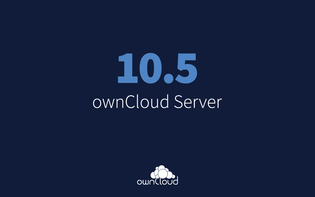 ownCloud server 10.5 release