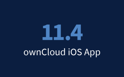 With ownCloud for iOS, 3.8 + 1.3 really is 11.4, trust us