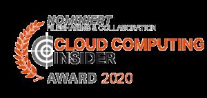 Cloud computing insider award Nominiert 2020