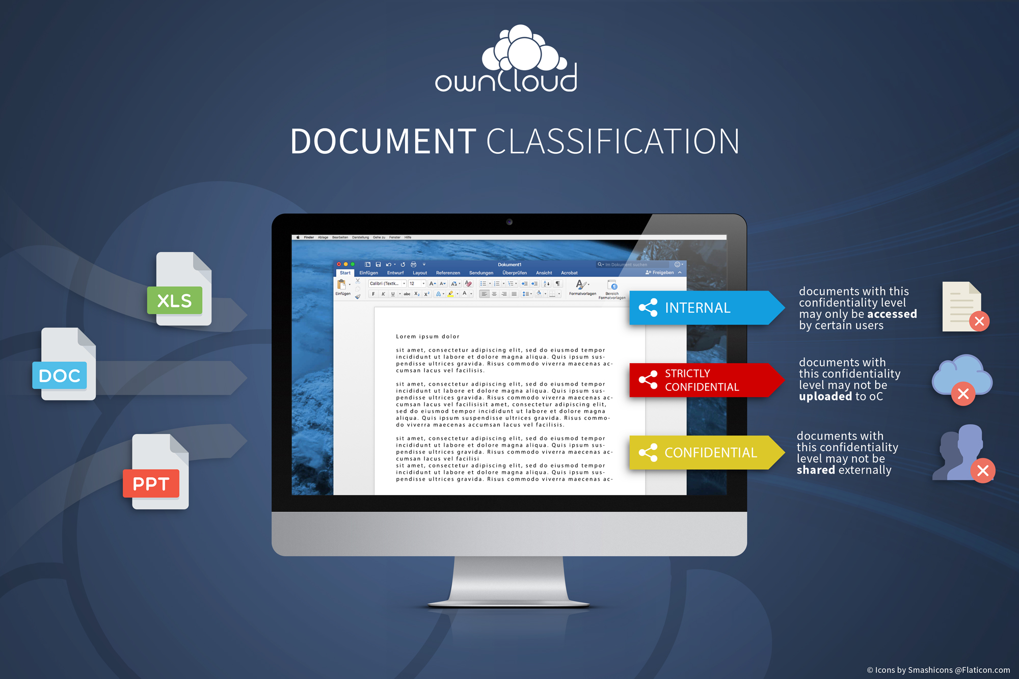 Document Classification Infographic