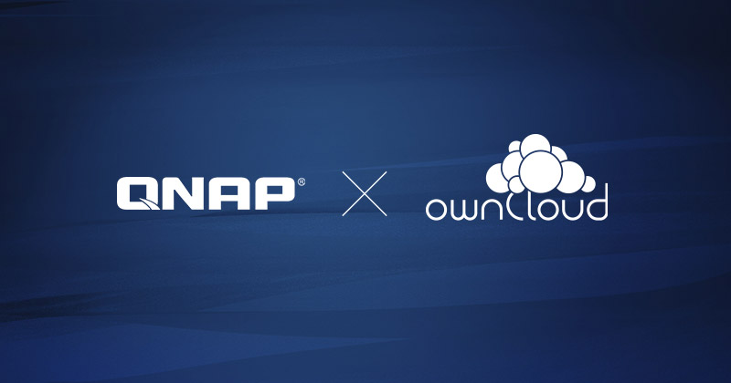 QNAP Systems Inc. and ownCloud GmbH announce strategic partnership