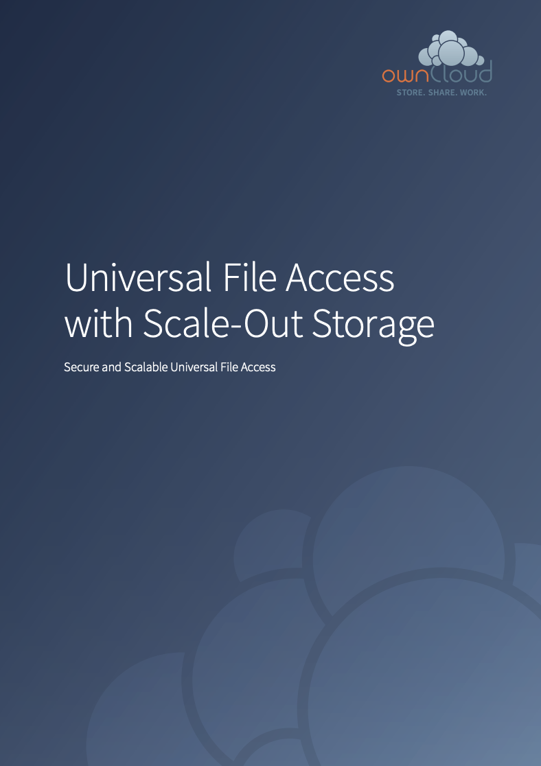 Universal File Access with Red Hat Scale-Out Storage