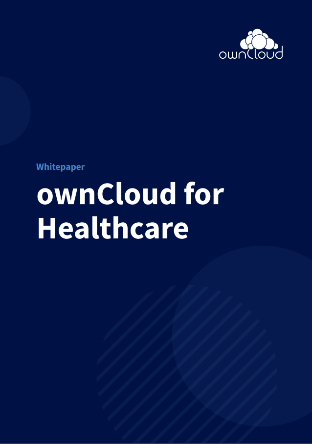 ownCloud for healthcare