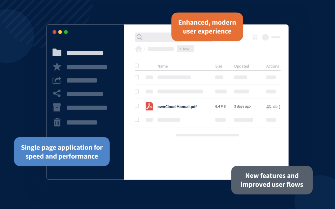 ownCloud Web: A new view on your file platform