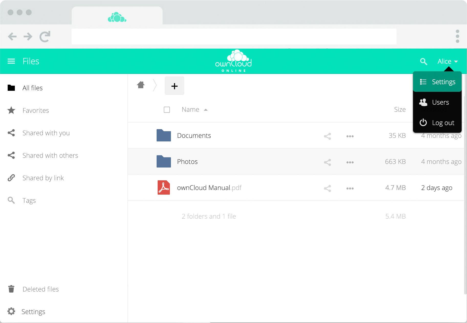 ownCloud.online Sicherer Cloud-Speicher