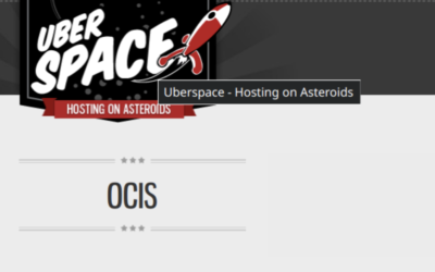 How-to: Hosting ownCloud Infinite Scale on Uberspace