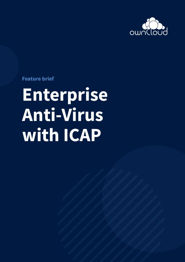 ICAP Feature Sheet