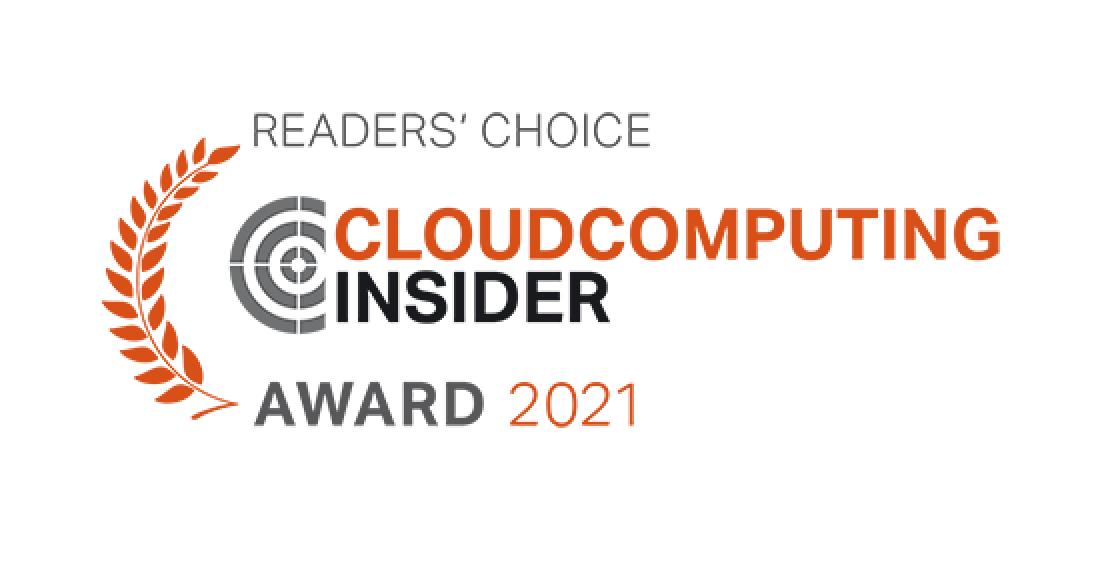 Cloud Computing Insider Award 2021